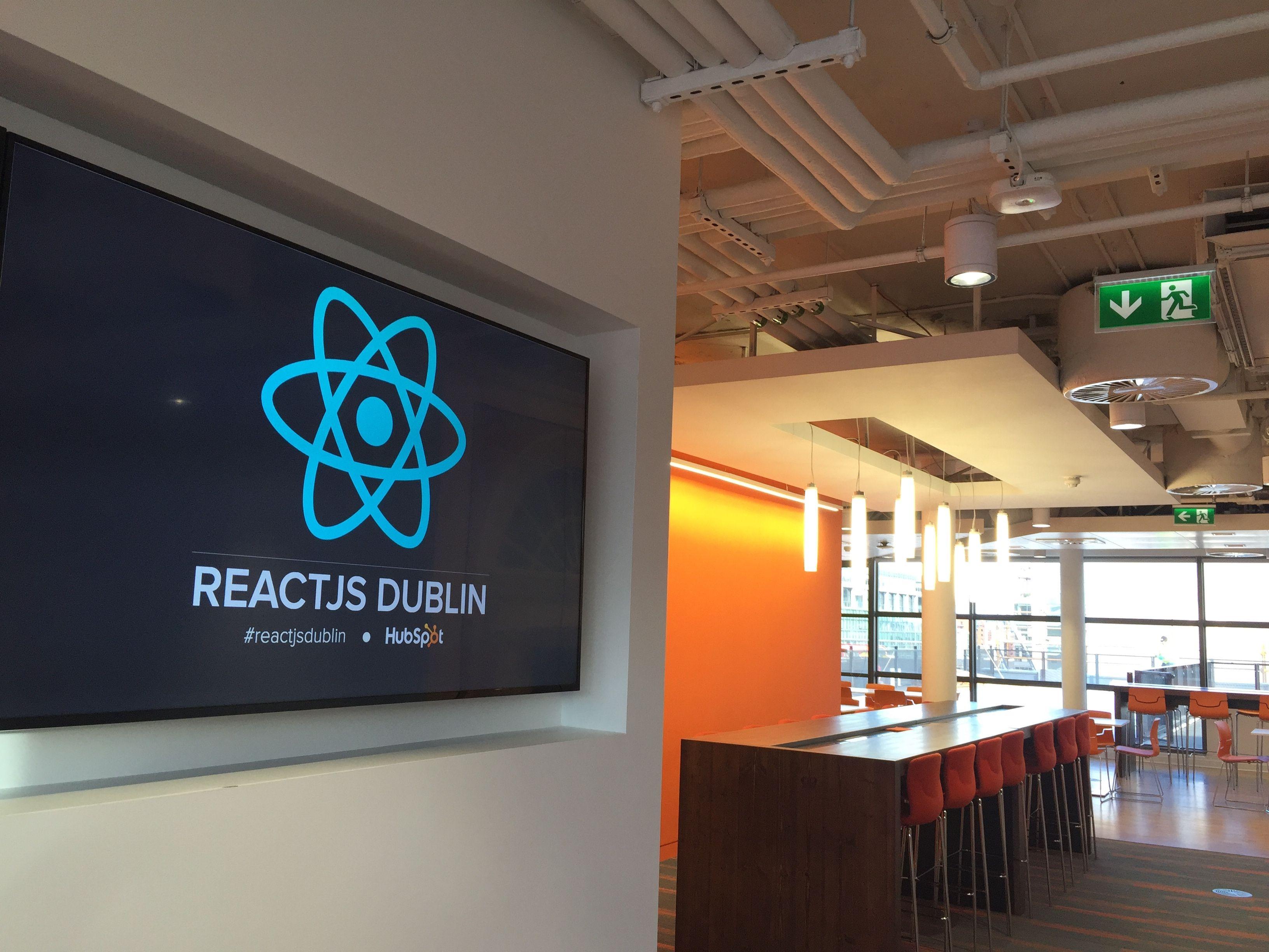 ReactJS Dublin