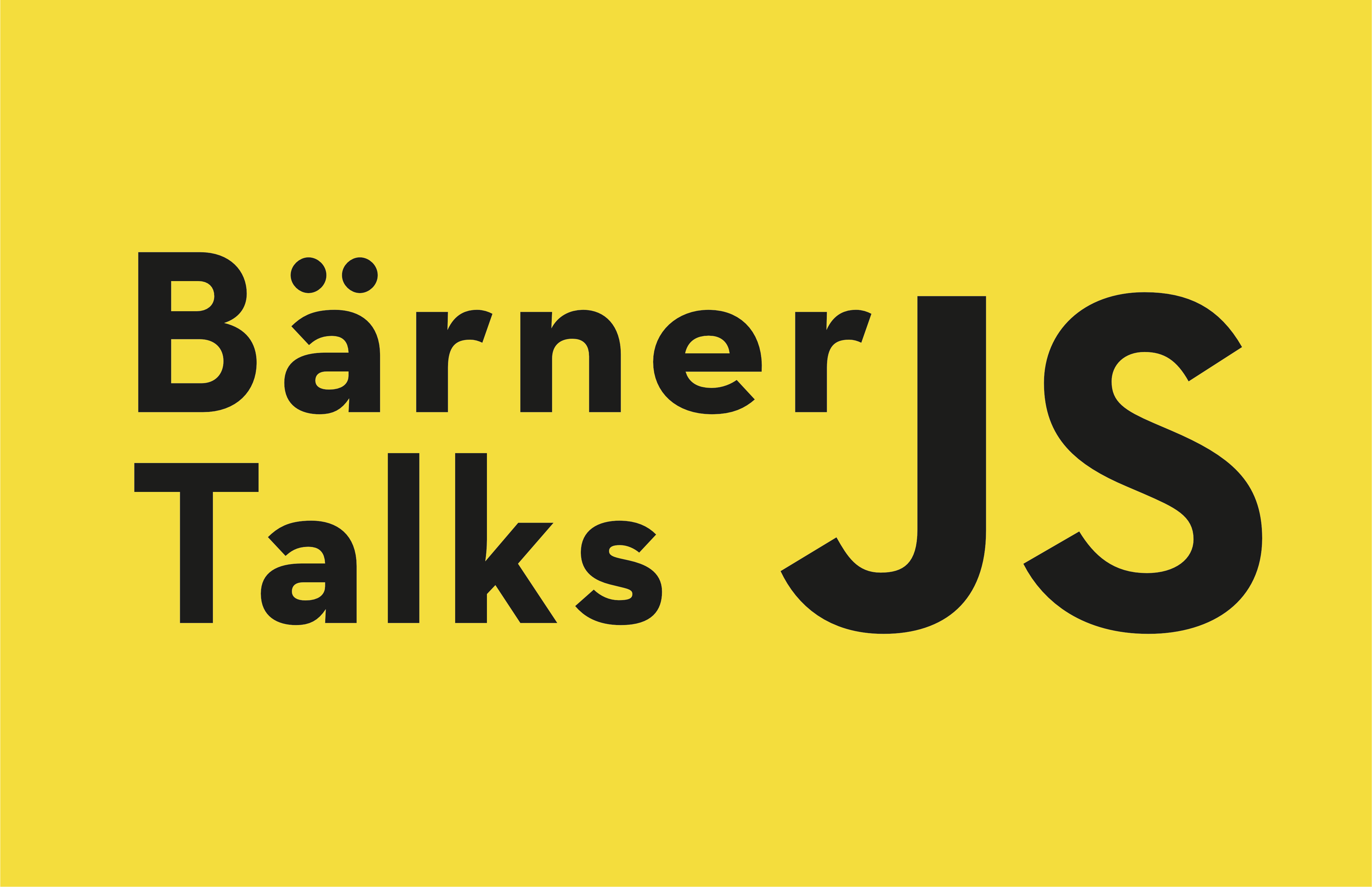 Bärner JS Talks