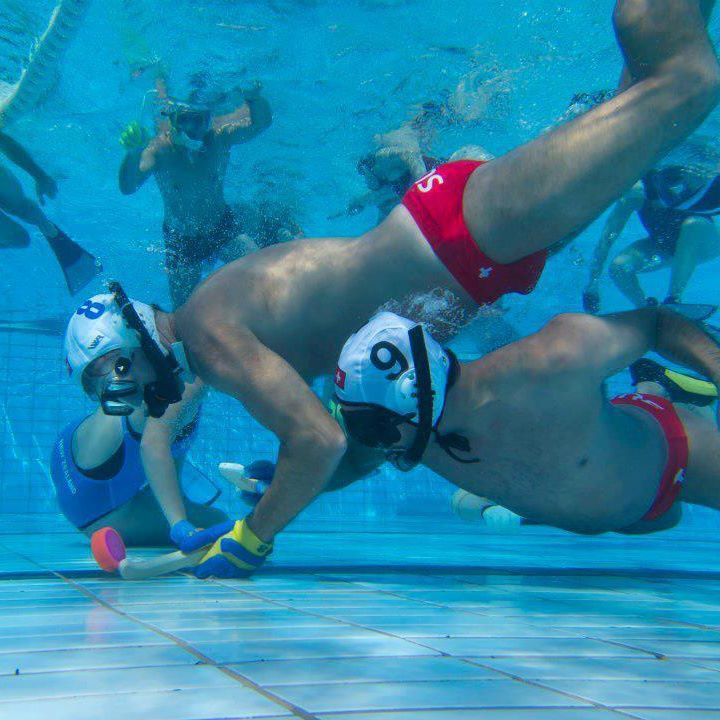 Underwater Hockey in Saint-Louis (FR)