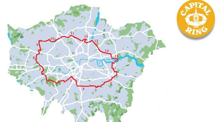 The Capital Ring Walk, London
