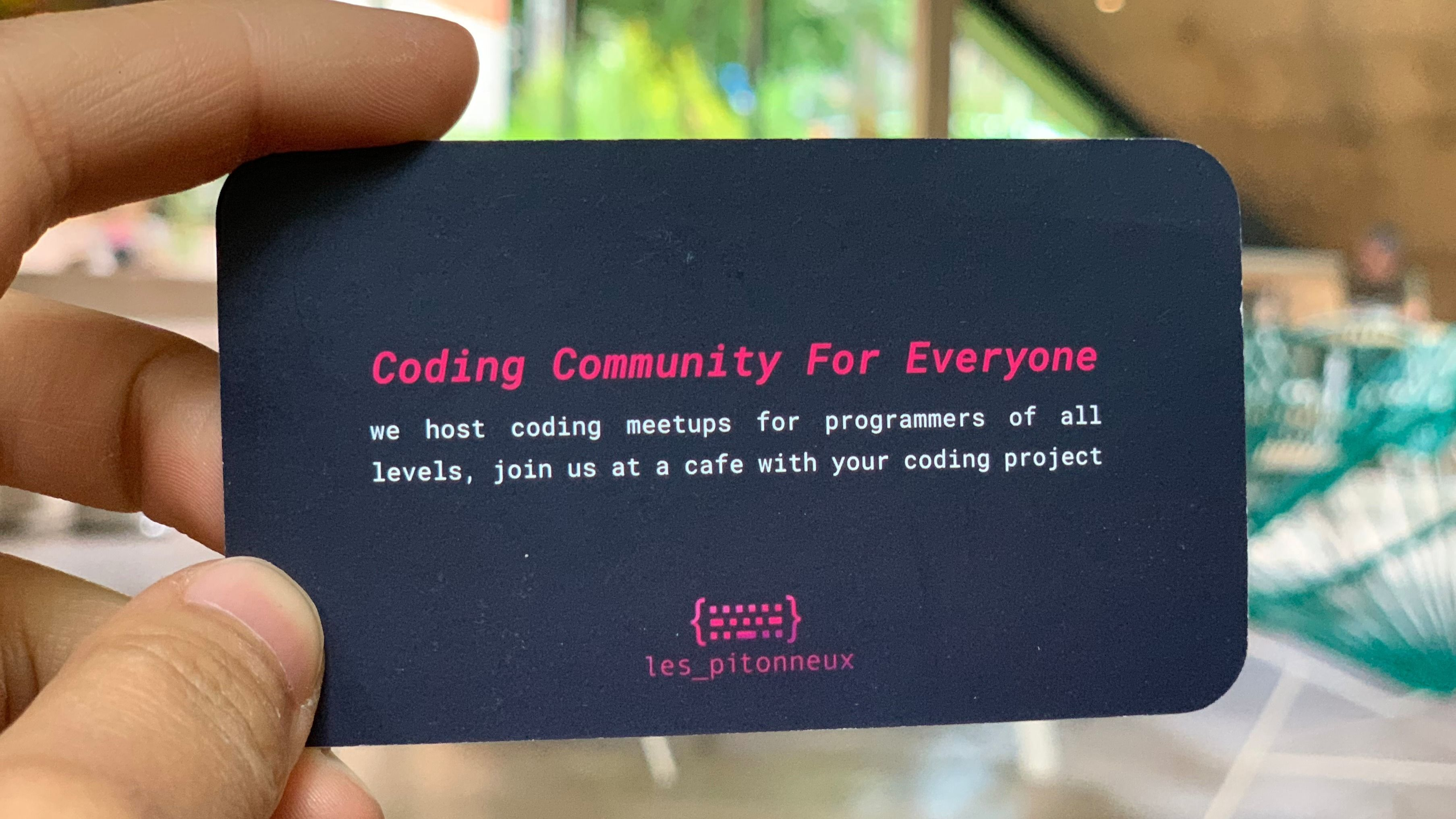 Les Pitonneux - Coding Community for Everyone