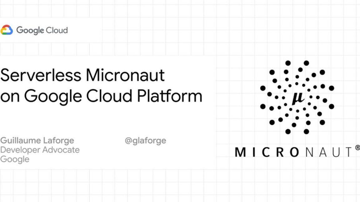 Décollage de microservices Micronaut en Java dans les nuages