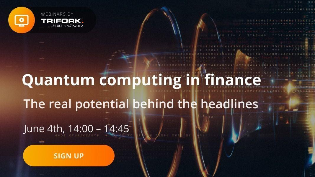 Quantum computing in finance – the real potential behind the headlines