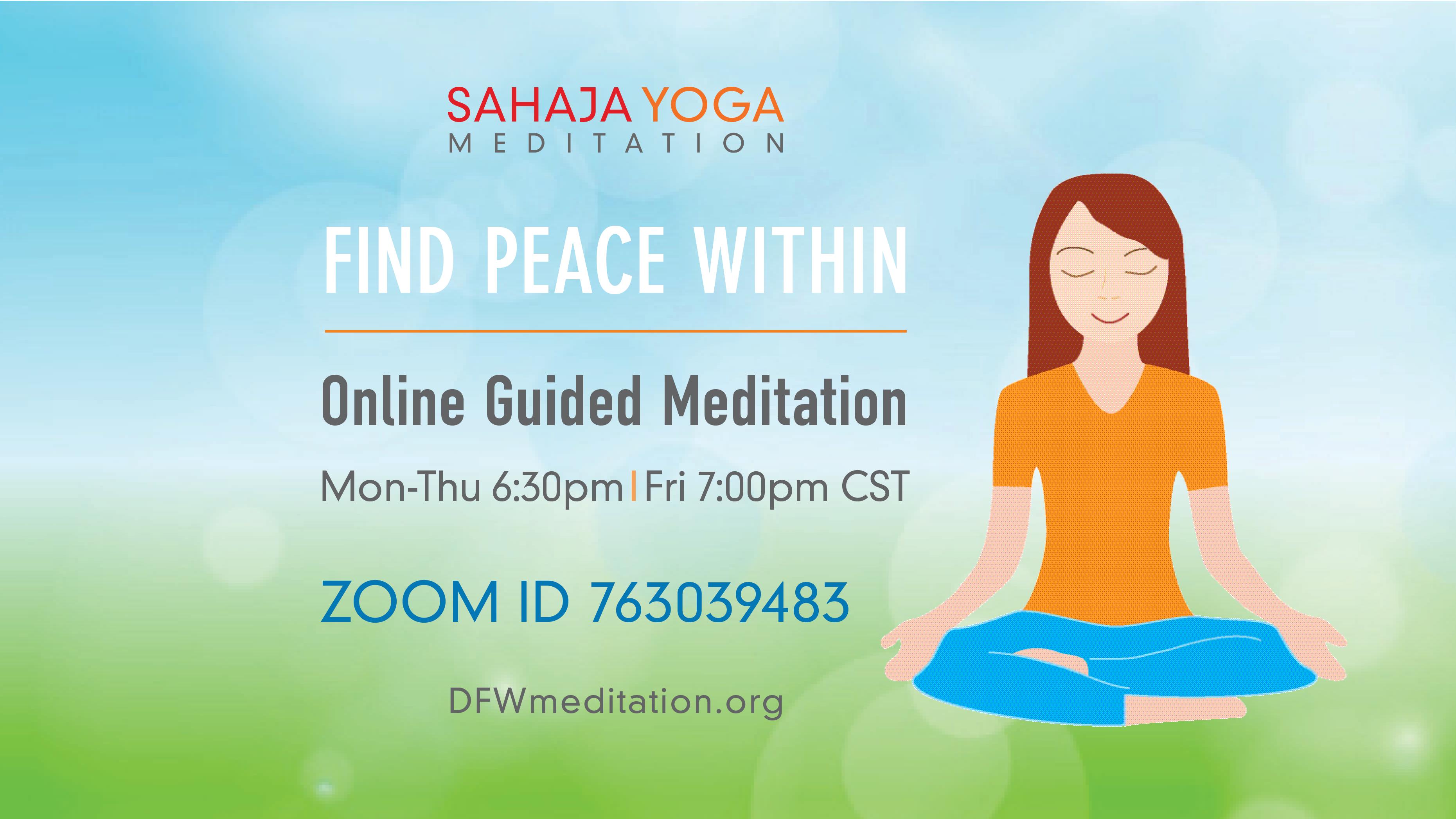 Sahaja Yoga Meditation Dfw Carrollton Tx Meetup