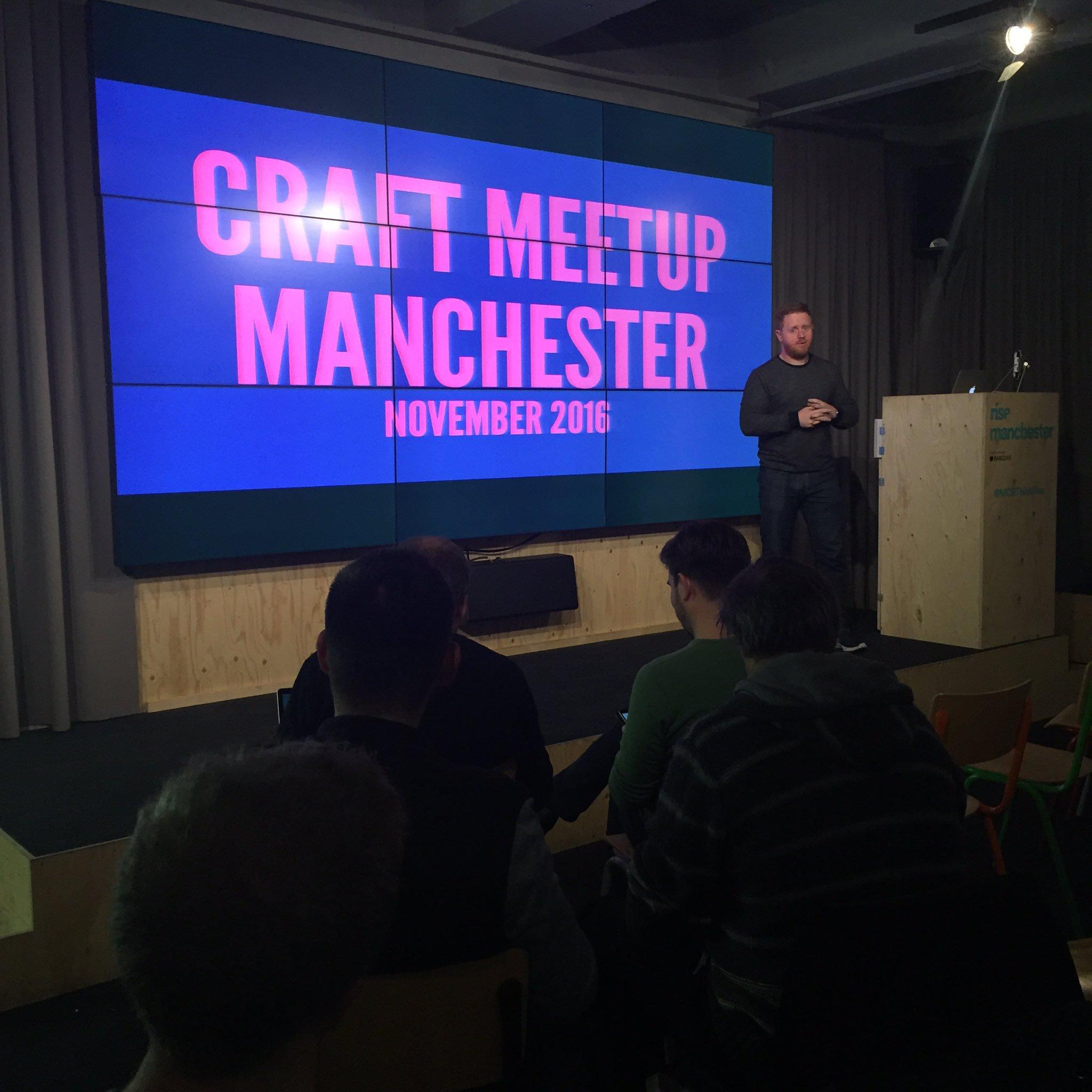 Craft CMS Manchester