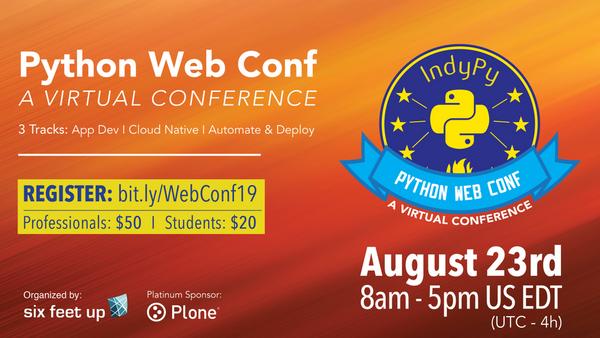 Python Web Conf 2019 | Meetup