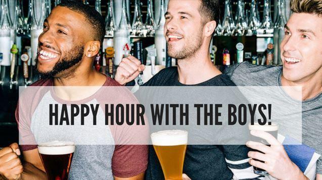 Suburban Single Gay Men's Happy Hour