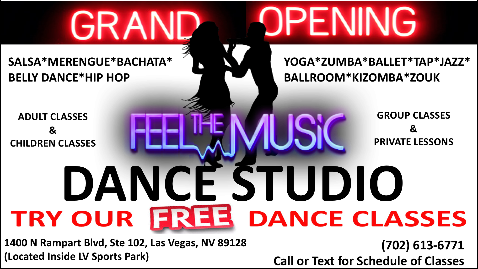 FEEL THE MUSIC DANCE STUDIO