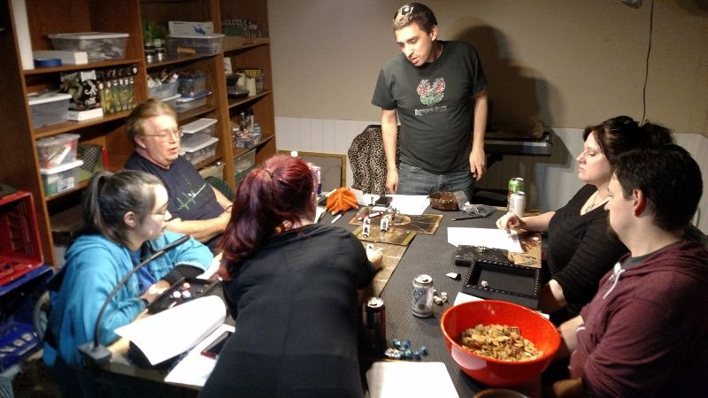 The Ann Arbor Area RPG & D&D Group