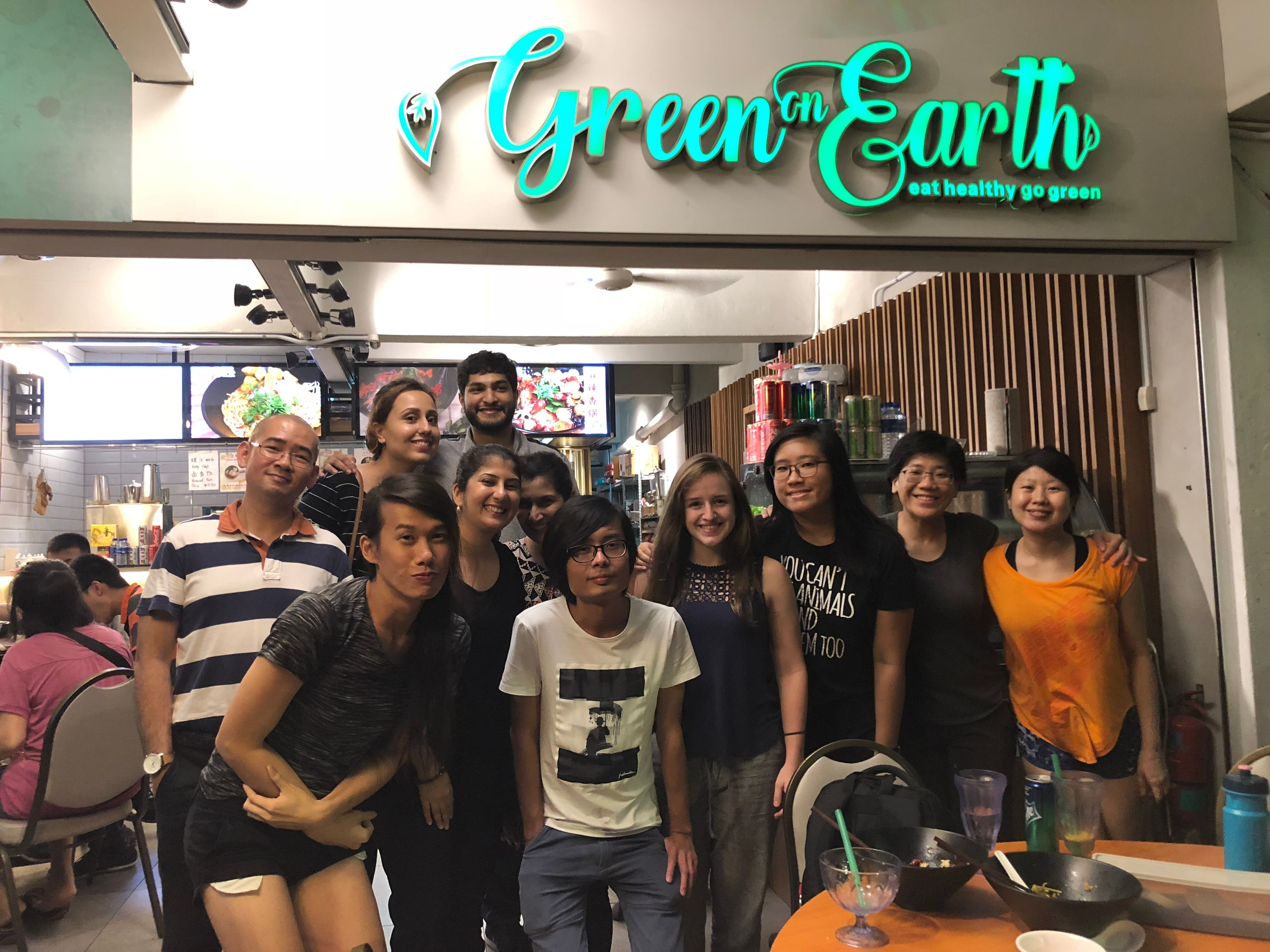 The Singapore Vegetarian Meetup Group