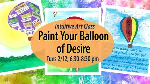 Paint your 2019 Balloon of Desire | Meetup