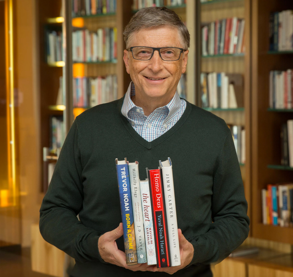 The Bill Gates Book Club