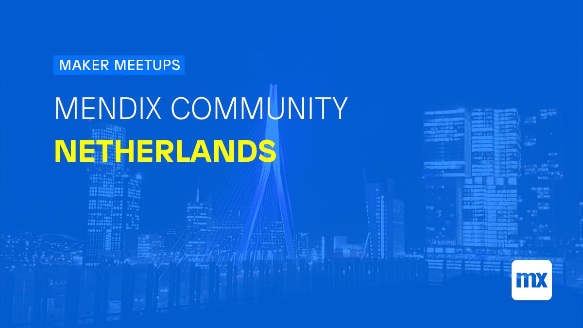 Mendix Community Netherlands
