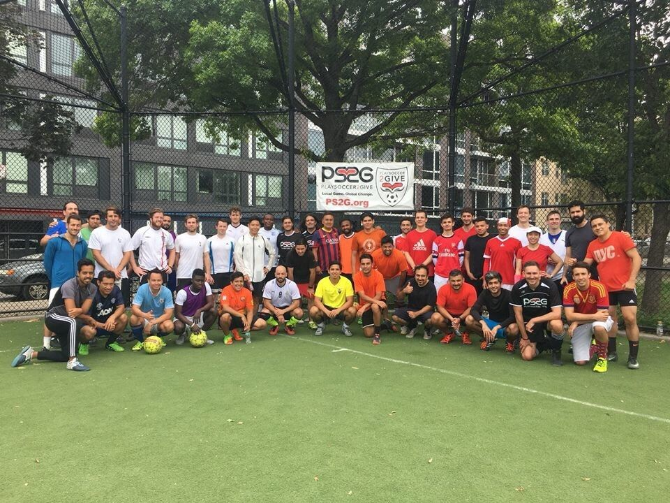 PS2G NYC-Coed Soccer Pickup for Charity -Play Soccer 2 Give