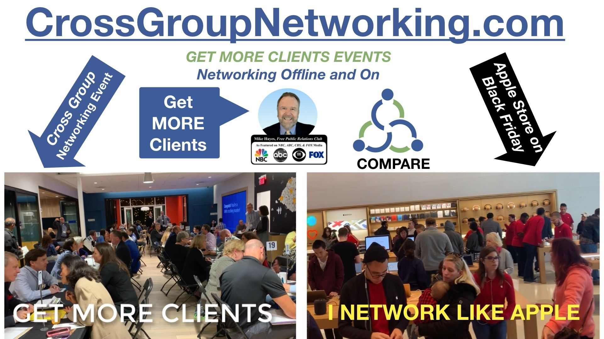 ENTREPRENEUR & BUSINESS PROFESSIONAL CROSS-GROUP NETWORKING.