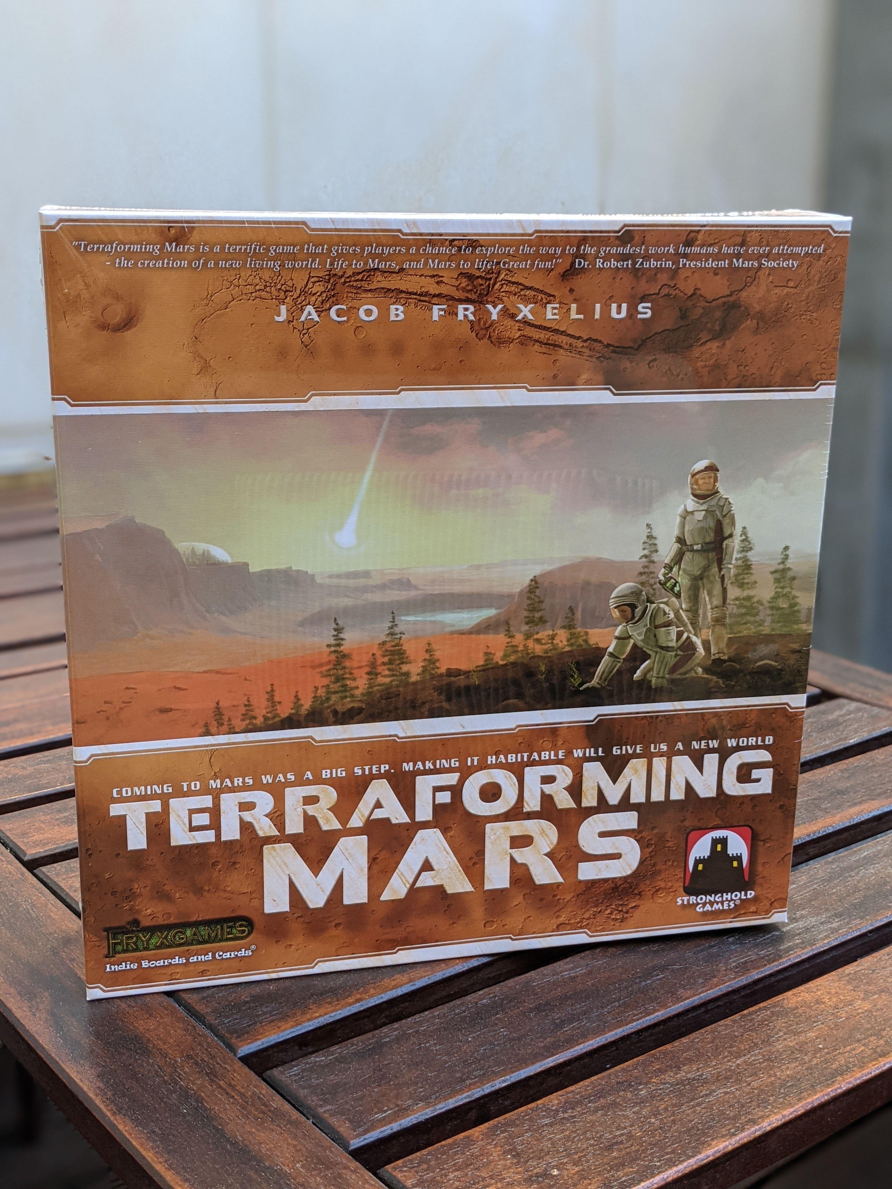 Let's play Terraforming Mars