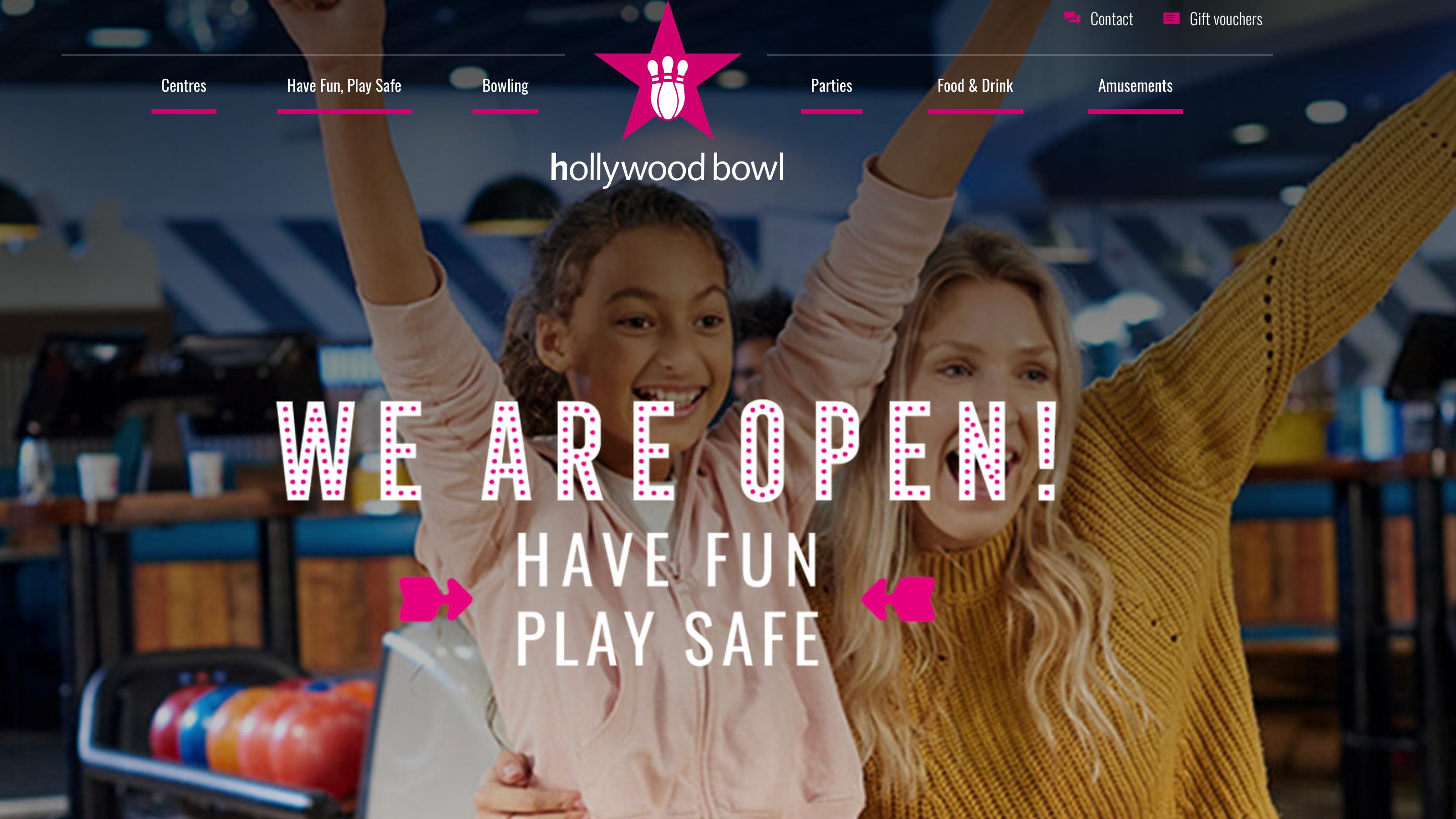 Hollywood Bowl - Ten Pin Bowling