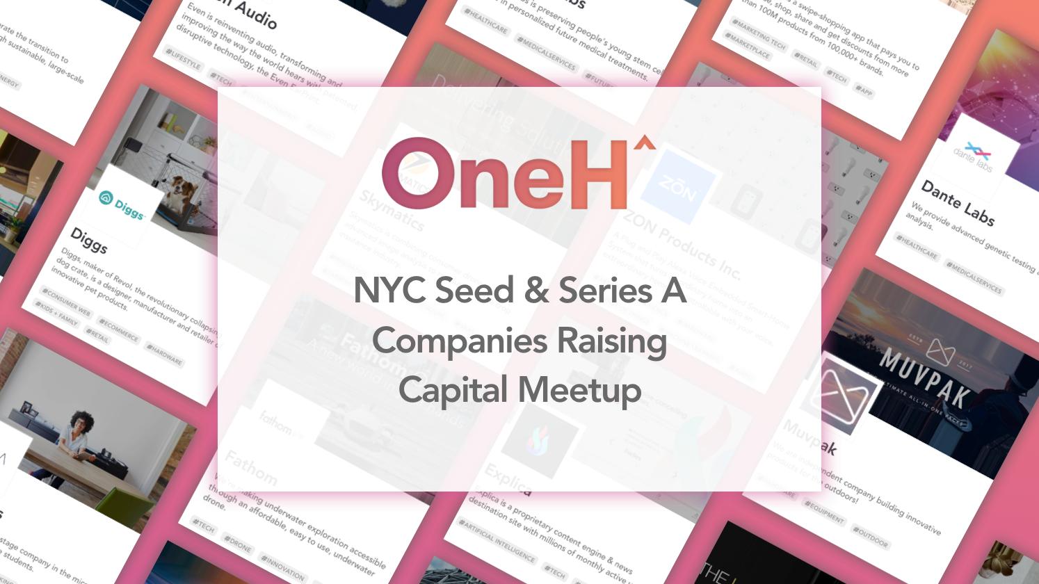 New York Seed & Series A Companies Raising Capital