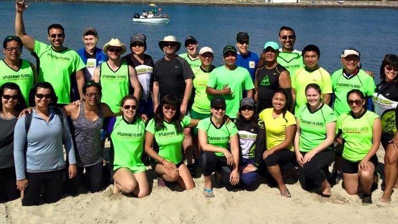 Splashing Flyers Dragon  Boat Racing
