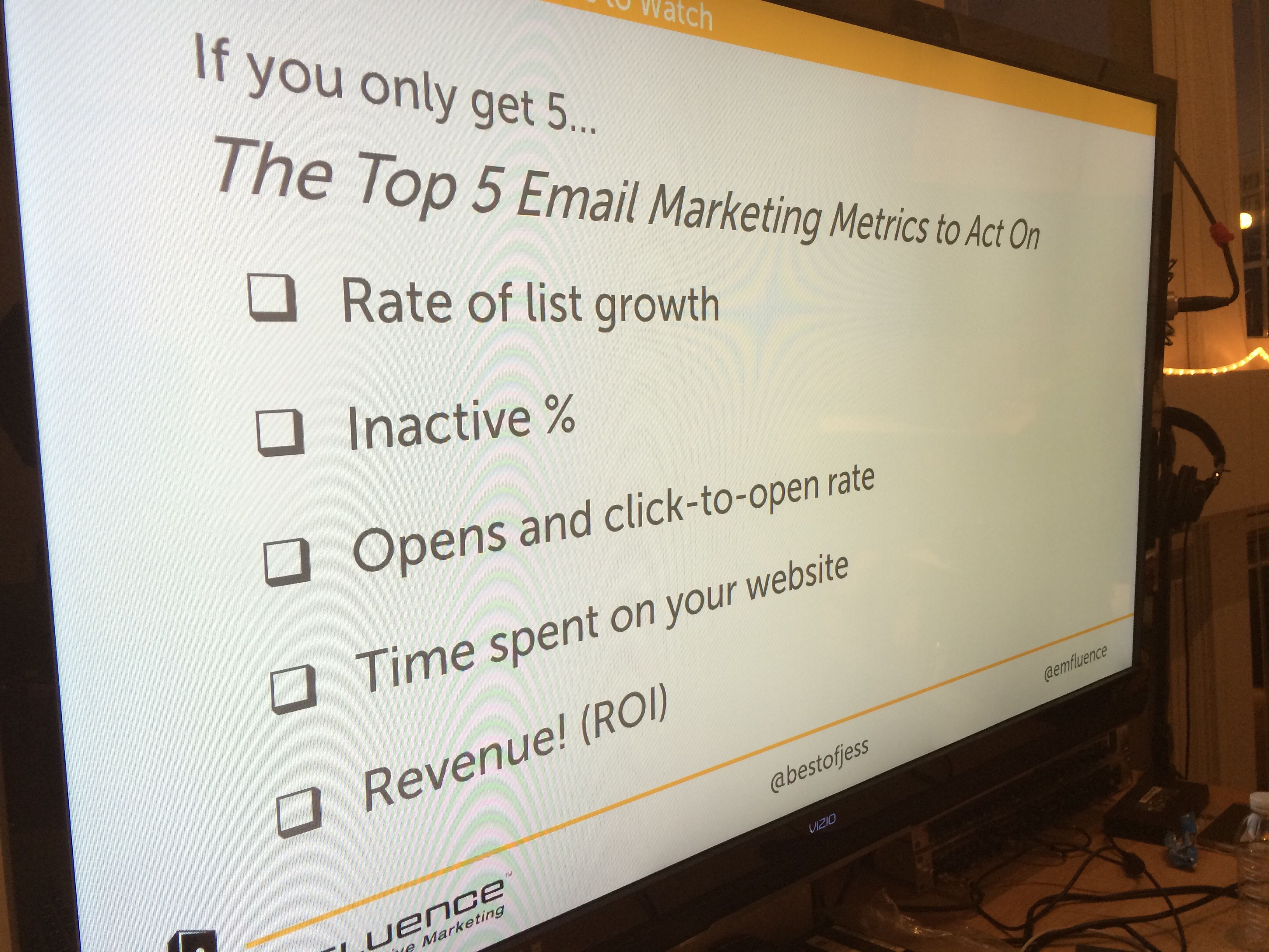 Kansas City Web Analytics & Marketing Metrics