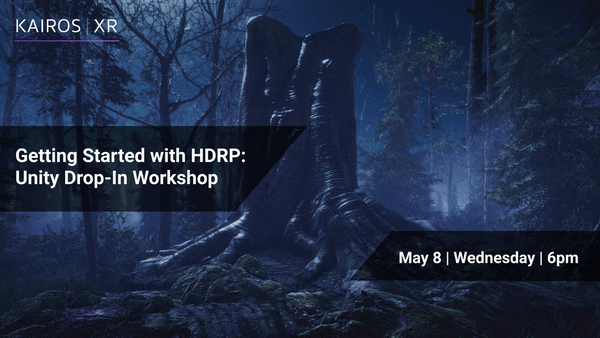 Online VR/AR Unity Workshop: Enhance your Graphics with HDRP | Meetup