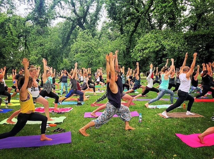 YOGA In The Park (+ indoors) Melbourne! *Pay As You Feel*