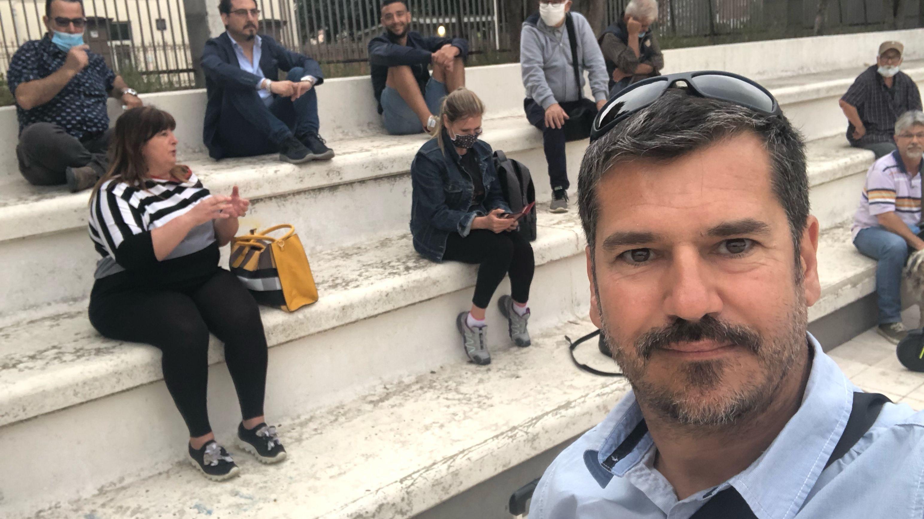 MeetUp all'aperto piazza Monica Moretti Sassari