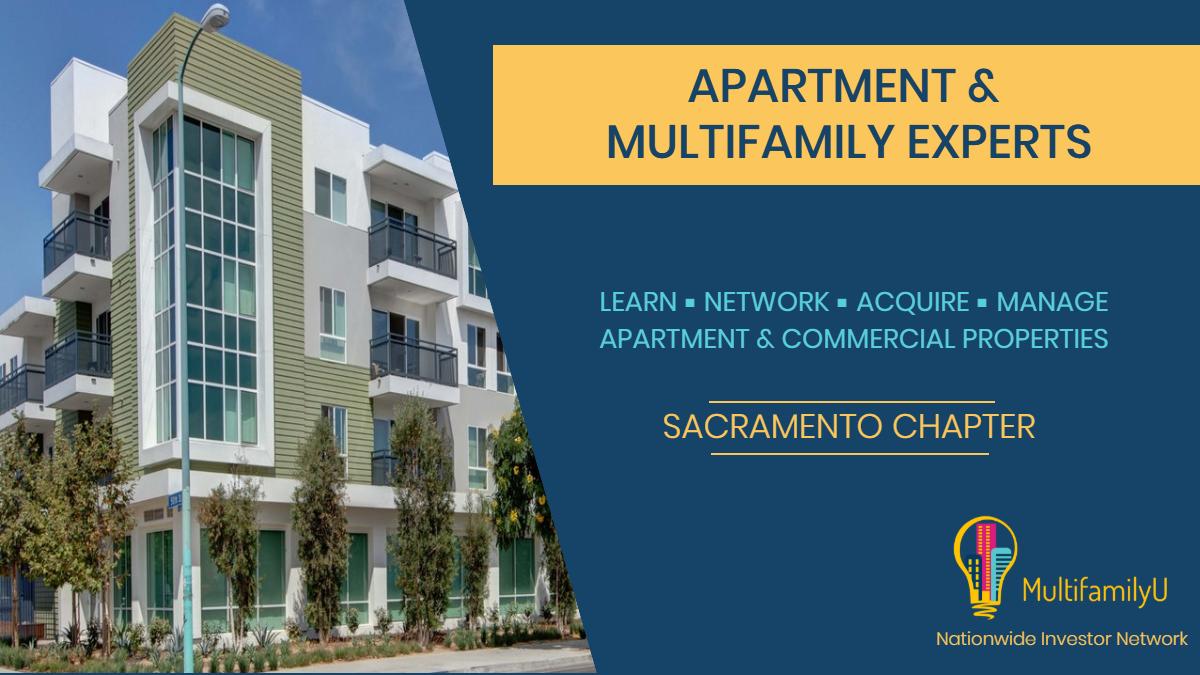Sacramento Apartment Investors - Multifamily University