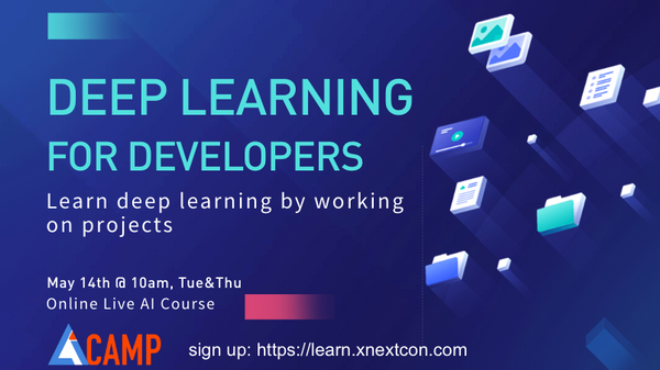 live AI course: deep learning for developers   Meetup