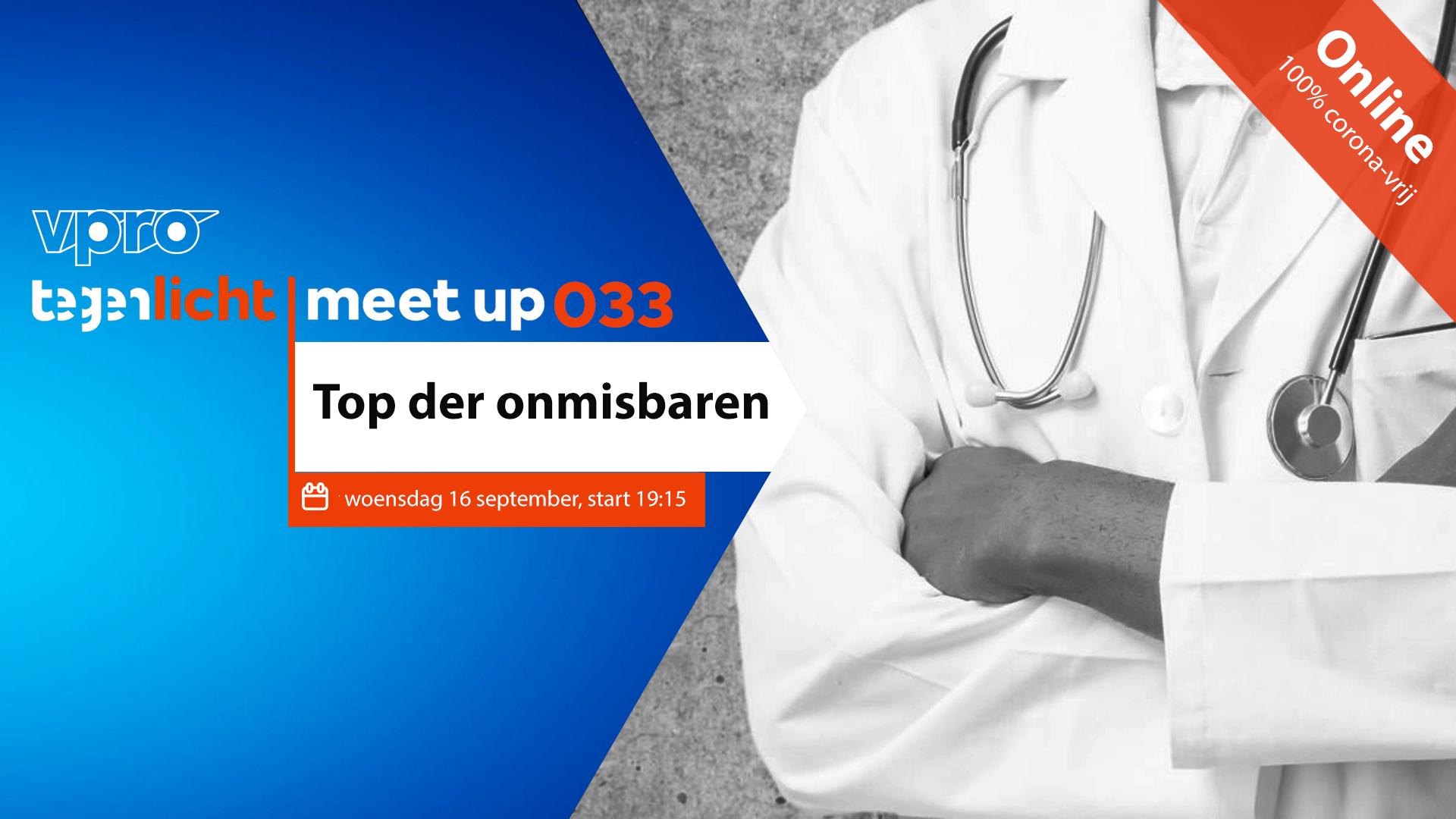 VPRO Tegenlicht Meet Up Amersfoort: Top der Onmisbaren