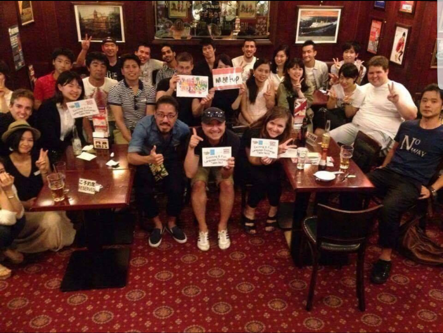 ★Casual&Fun Language Exchange @International barShinOkubo/カジュアルで楽しい言語­­交換Meetup★