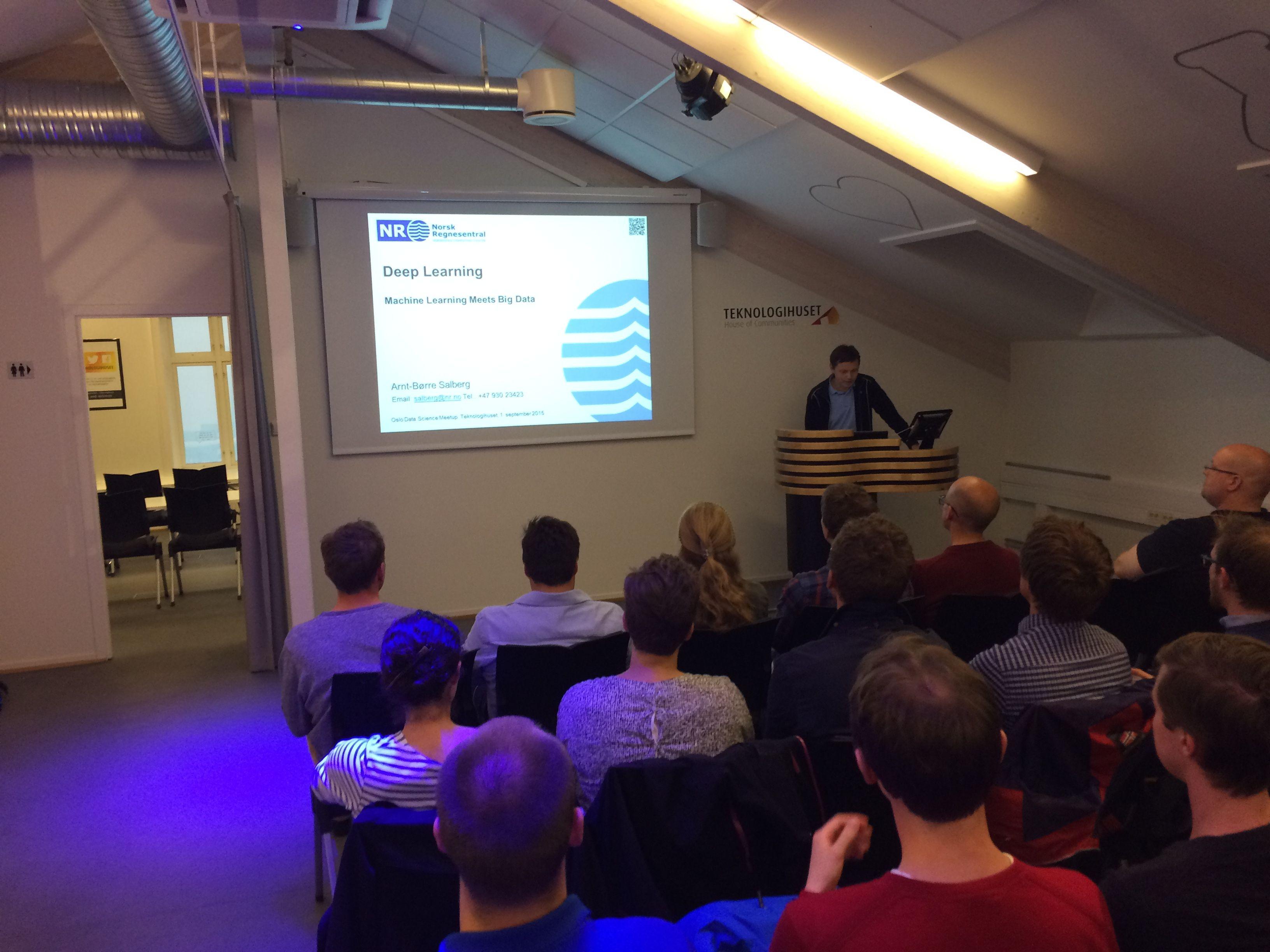 Oslo Data Science Meetup