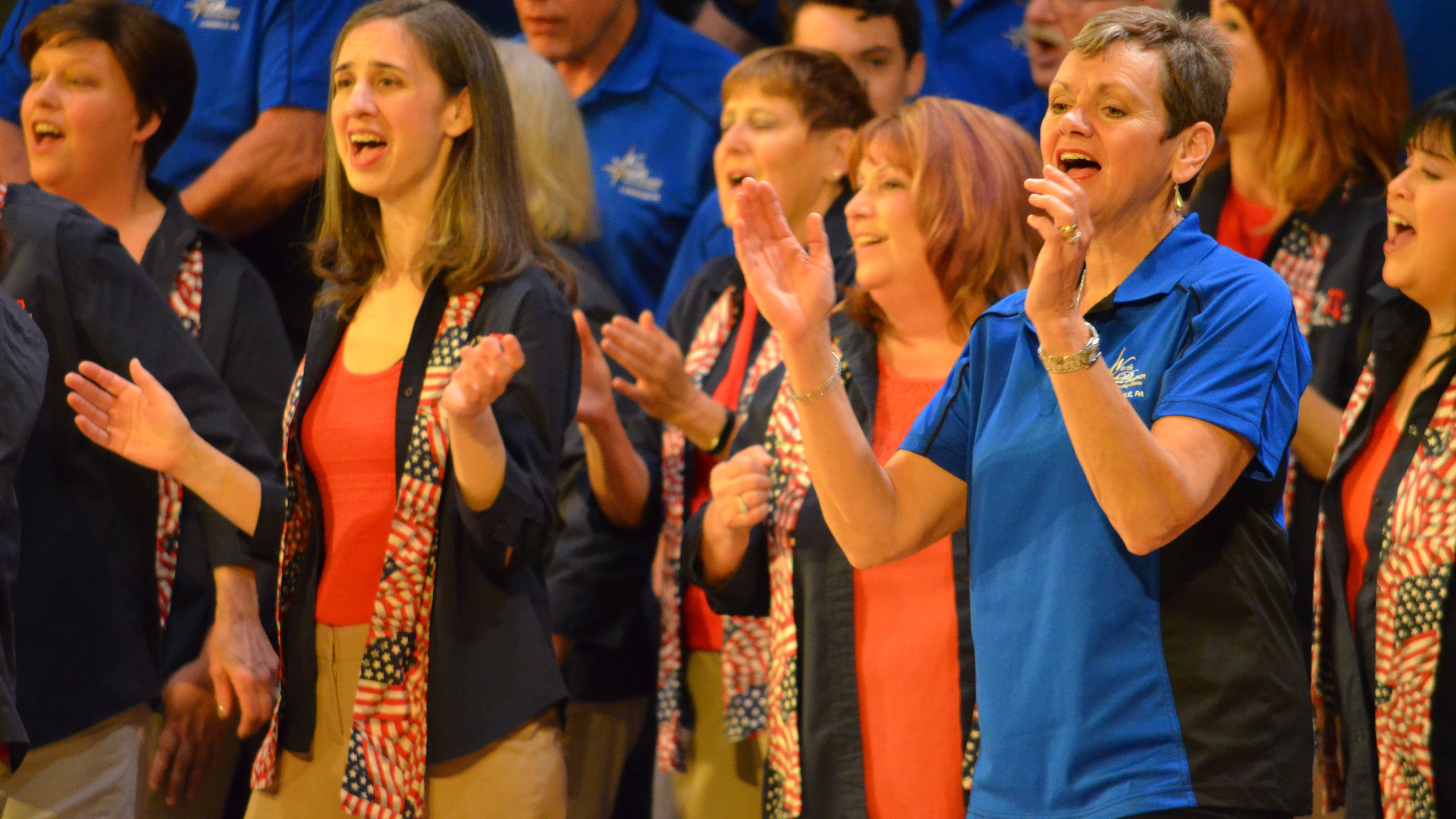 Female A Cappella - The Liberty Belles Chorus, Lansdale, PA