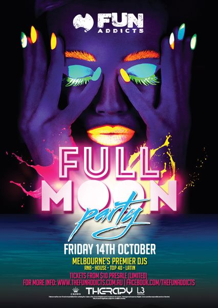 FULL MOON PARTY @Crown Casino - Fun Addicts (Welcome to ...
