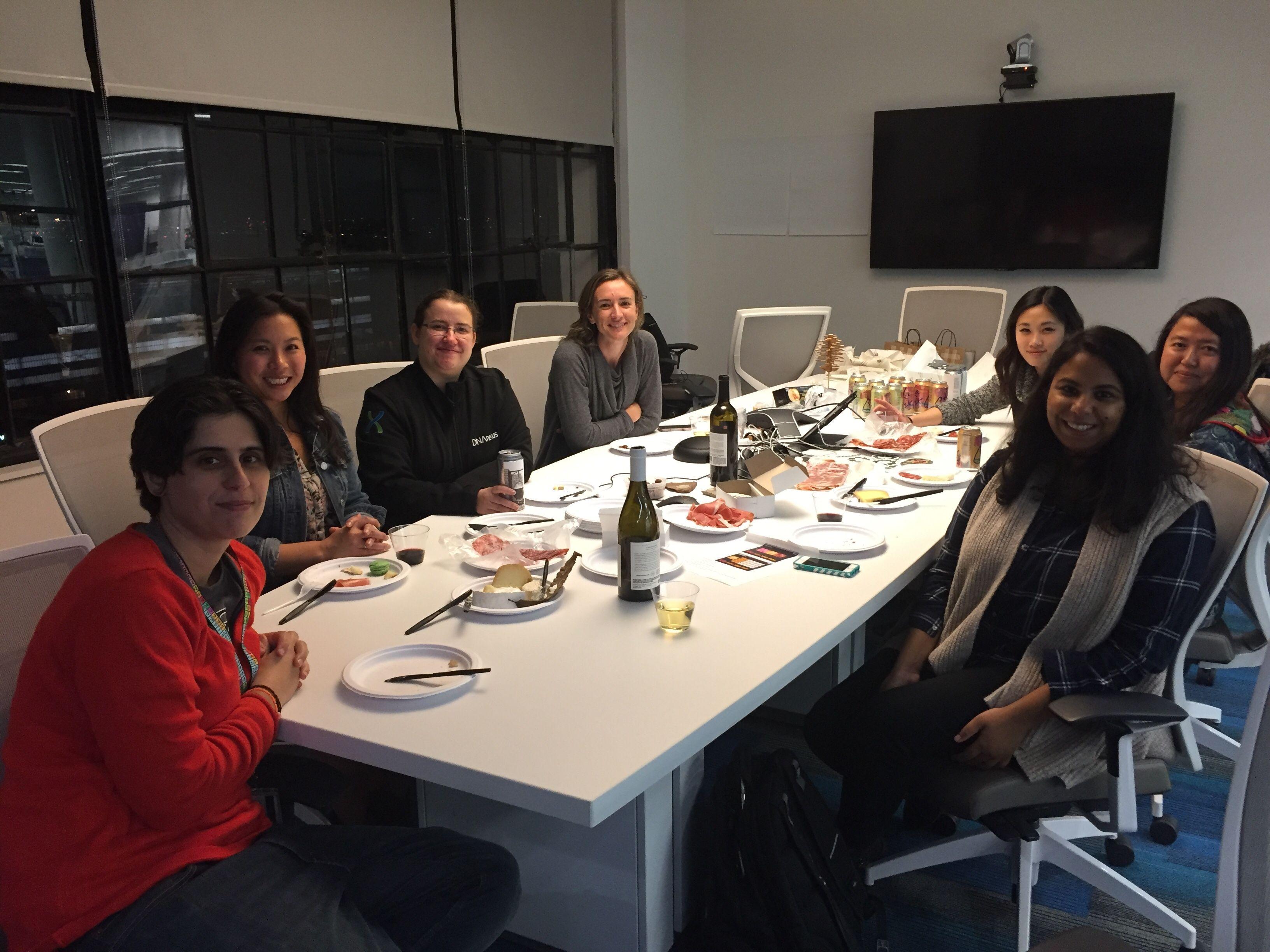 Boston-area Women's Bioinformatics Meetup