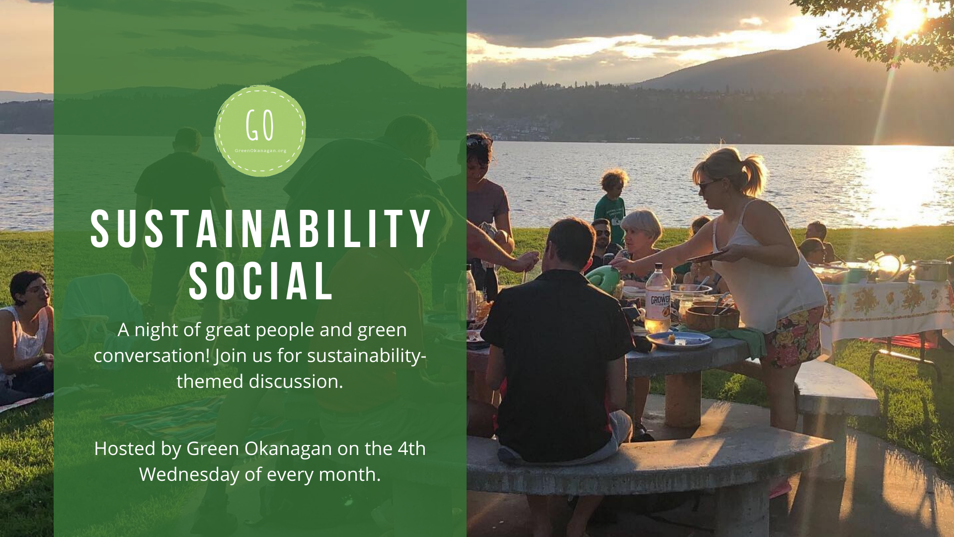 Green Okanagan's Sustainability Socials