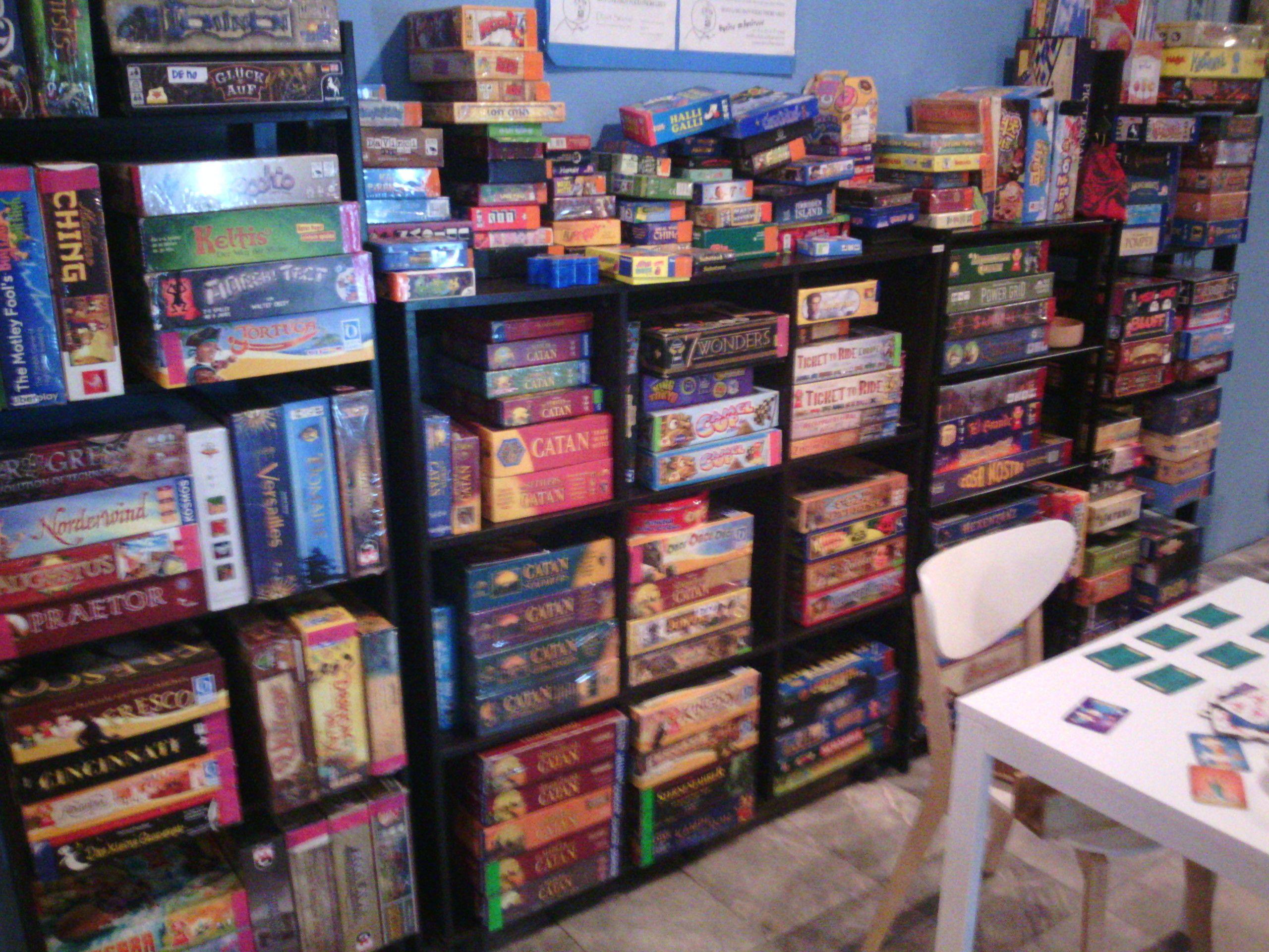 Let's Play Board Games at Ninive Board Game Store Bangkok