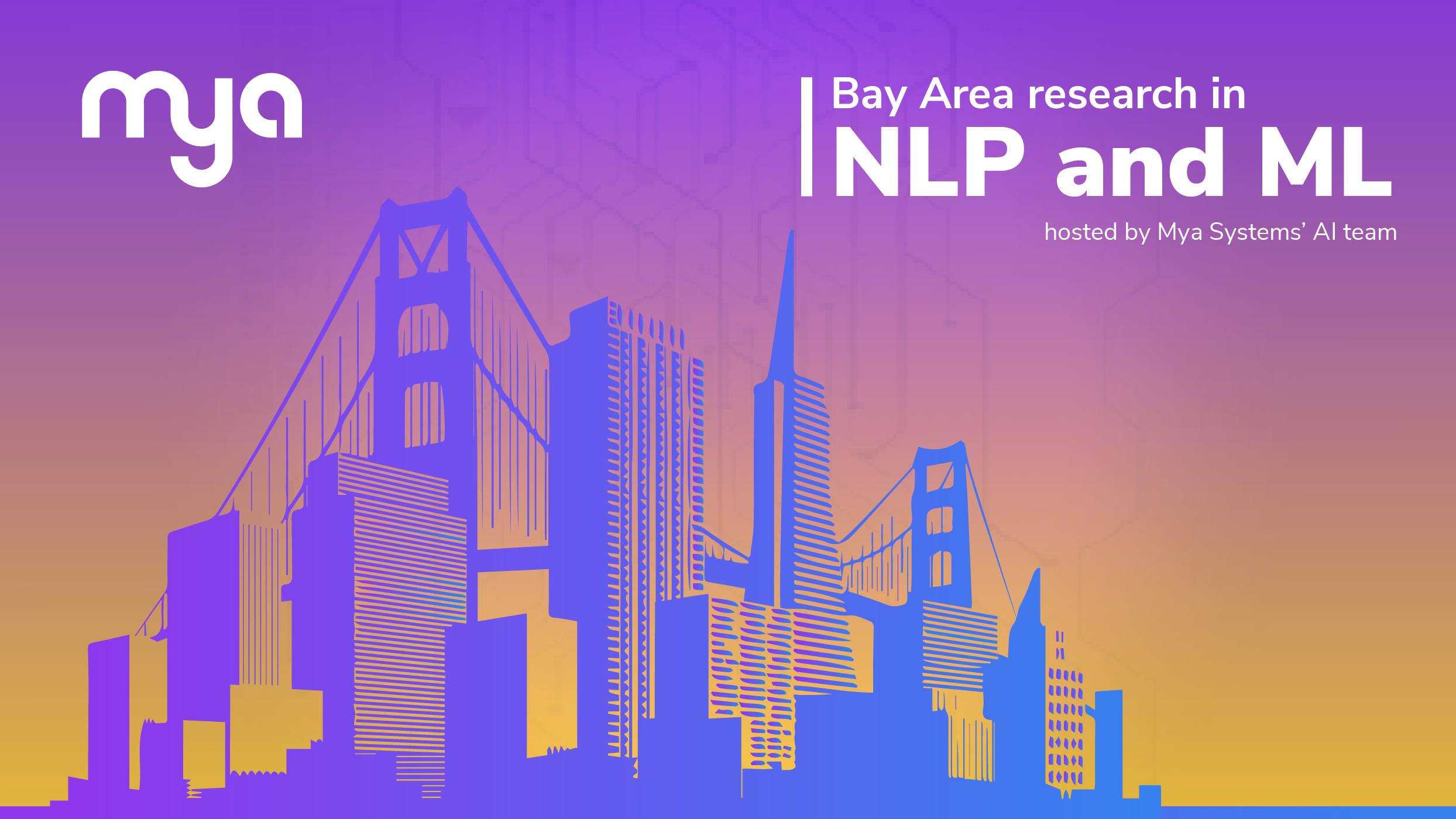 Bay Area Research in NLP and ML