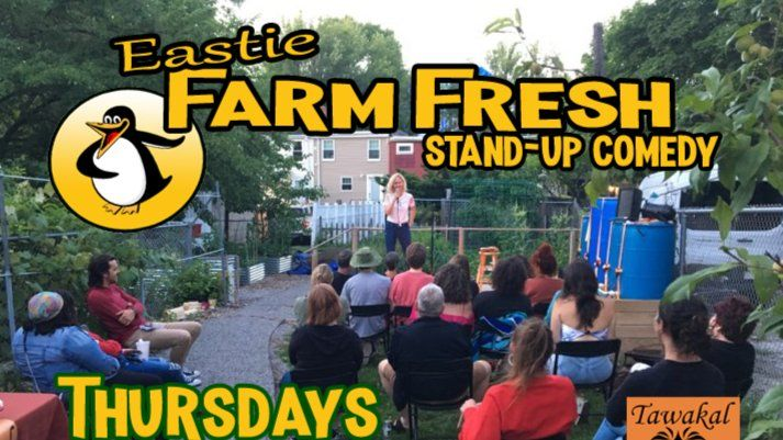 Farm Fresh Stand-up Comedy at Eastie Farm