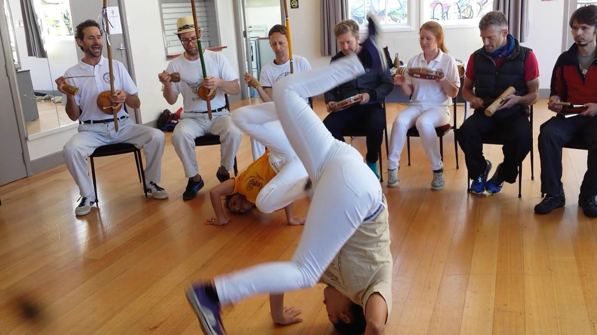 Capoeira Angola in Wellington