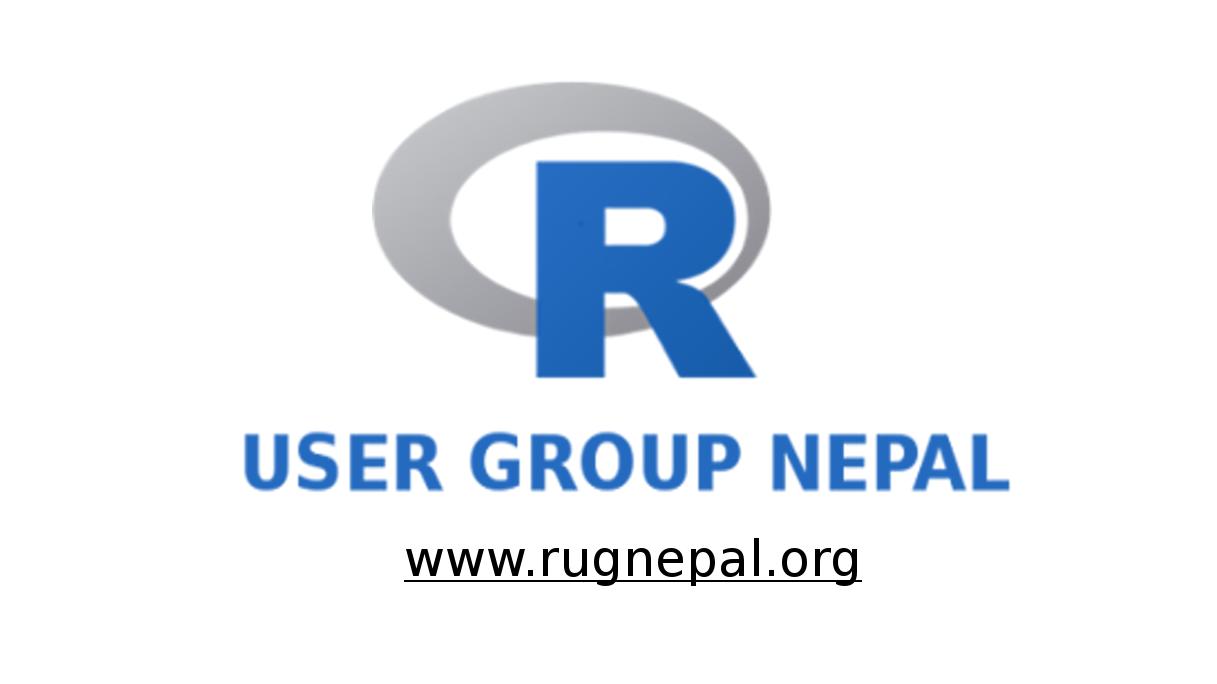 R User Group Nepal