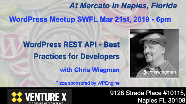 WordPress REST API - Best practices for Developers | Meetup