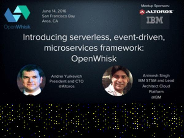 Introducing serverless, event-driven, microservices framework