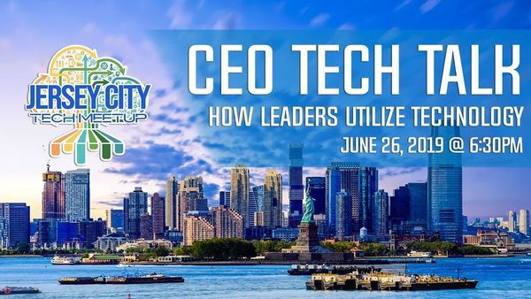 Image result for CEO Tech Talks Jersey City Tech Meetup