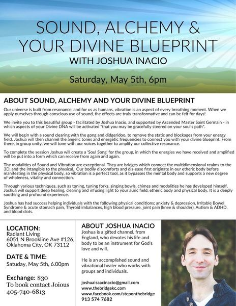 Sound alchemy your divine blueprint toning and sound healing sound alchemy your divine blueprint toning and sound healing experiences in oklahoma city oklahoma city ok meetup malvernweather Image collections