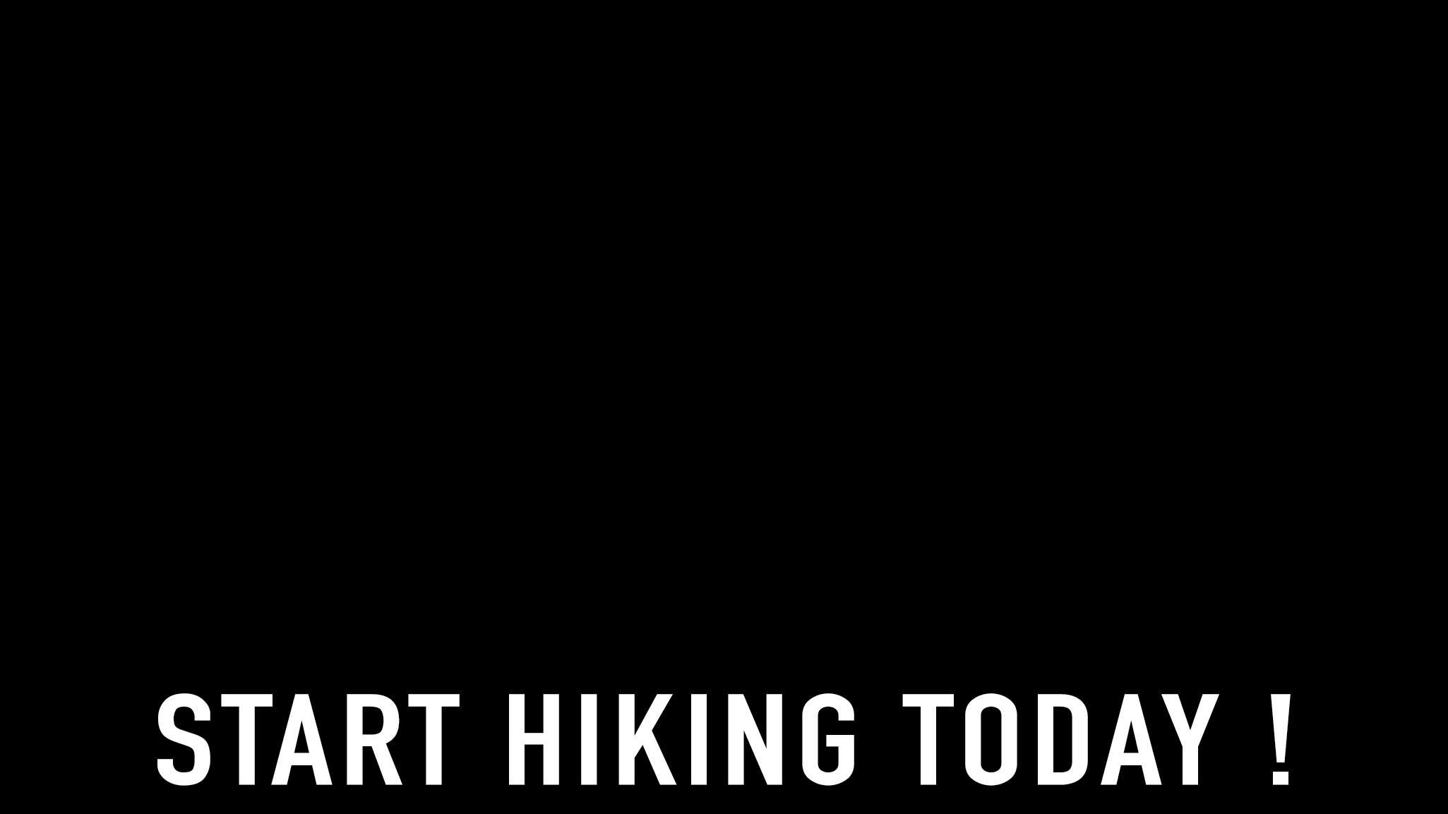 Start Hiking Today!