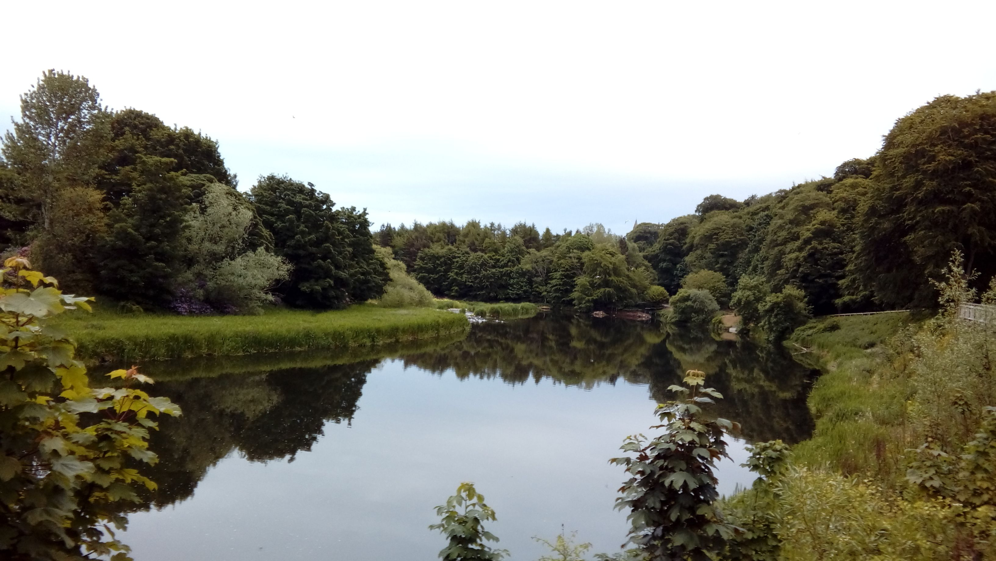 Riverside - unsurfaced paths.