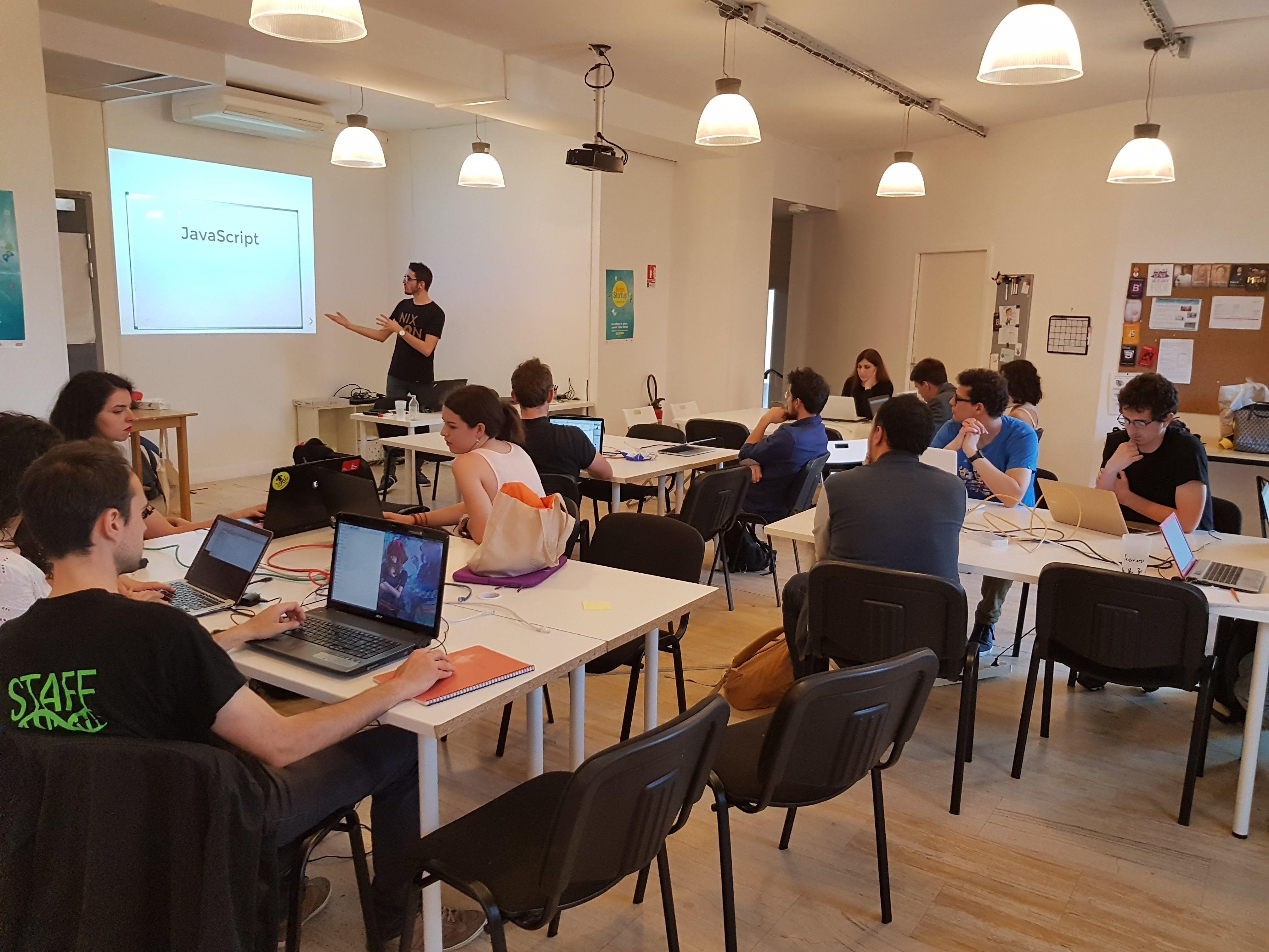 Lyon - Apprendre à coder ensemble
