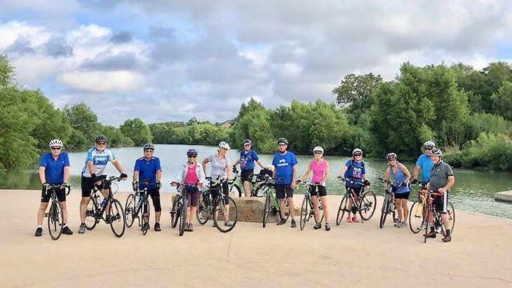 Greenway Trails Bicycle Riders