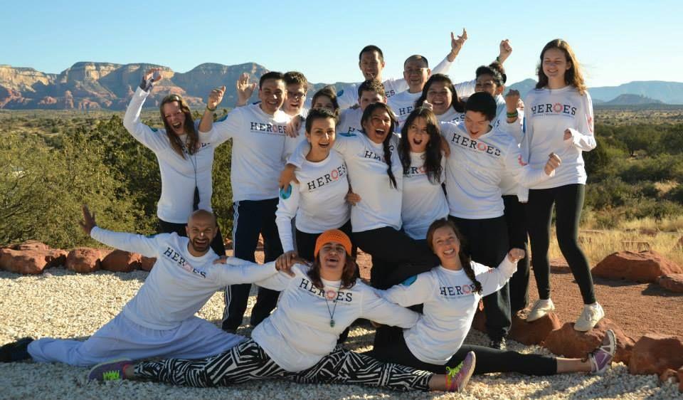 HEROES: Yoga~Ki-Gong~Dance~Mindfulness~Leadership (under 40)
